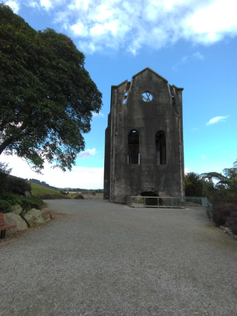 Pump House at Waihi, NZ.